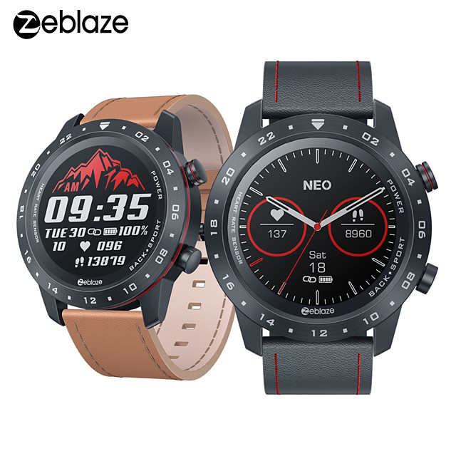 Zeblaze NEO 2 Men Women Smartwatch Android iOS Bluetooth Waterproof Color Touch Display Smartwatch Heart Rate CountDown Call Rejection Sleep Tracking Message Notifications