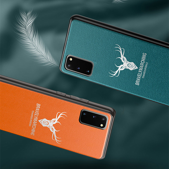 Case For Samsung Galaxy S9 / S9 Plus / S8 Plus Frosted Back Cover Solid Colored / Cartoon PU Leather / TPU / PC