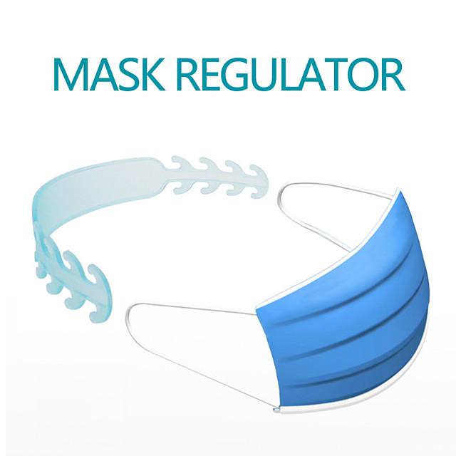 Mask Accessories Mask Extender Universal Mask Size Extending Hook Child Adult Slip Wearing Masks Snap Extender Headphone Cable Winder Charging Cable Winder Random Color