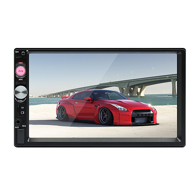 SWM 7023 7 inch 2 DIN Windows CE Car MP5 Player / Car MP4 Player / Car MP3 Player Touch Screen / Built-in Bluetooth / SD / USB Support for universal RCA / HDMI / VGA Support MPEG / MPG / WMV MP3