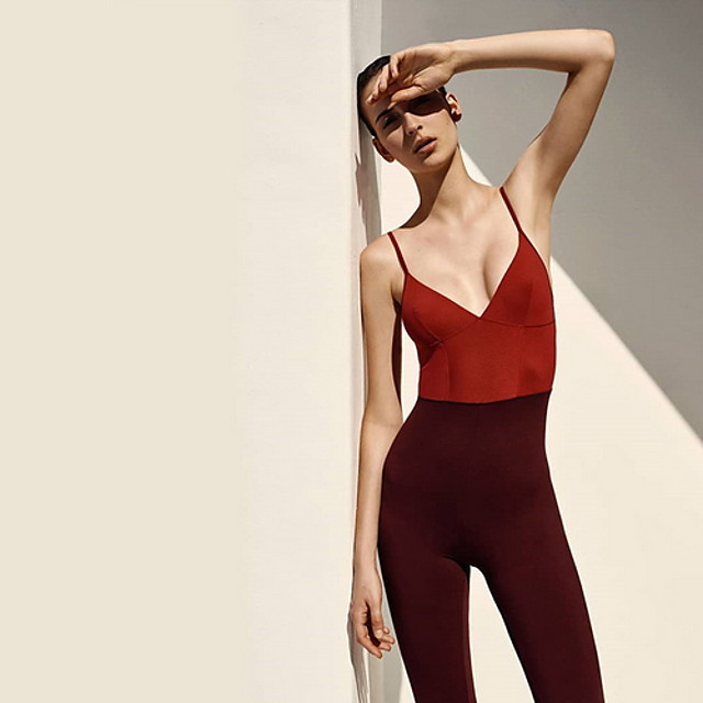Activewear Leotard / Onesie Split Joint Women's Training Sleeveless Chinlon