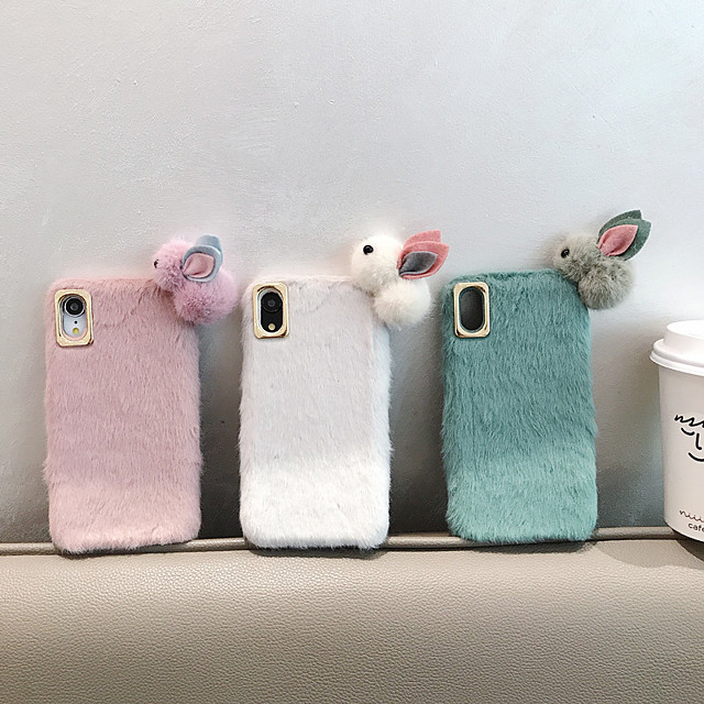 Case For Apple iPhone 11 / iPhone 11 Pro / iPhone 11 Pro Max Shockproof Back Cover Animal / Cartoon / Plush PC