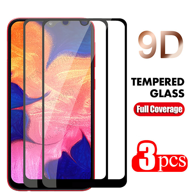 2PC/3PC 9D Curved Edge Full Cove For Samsung Galaxy A50 A40 A30 A70 A10 Tempered Glass Screen Protector