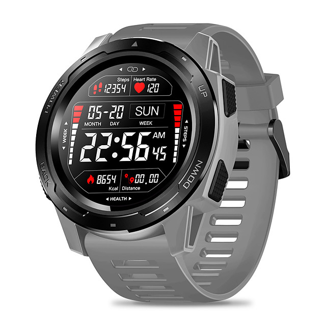 Zeblaze VIBE 5 PRO Color Touch Display Smartwatch Heart Rate Multi-sports Tracking Smartphone With Notifications WR IP67 Watch