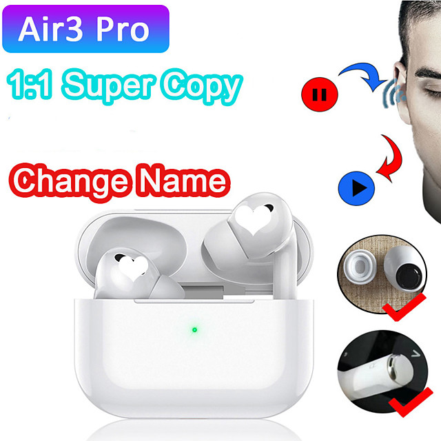 Newest TWS 11 air 3 Wireless Headphones Bluetooth Earphone Airpodering Smart Touch Earbuds Headset pk i12 clone pro 2 i100000