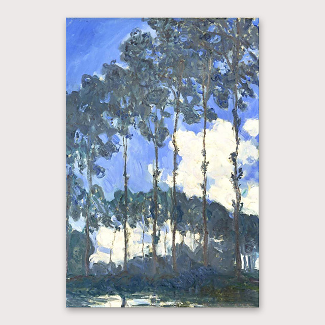 IARTS®Hand Painted tree Oil Painting   with Stretched Frame For Home Decoration