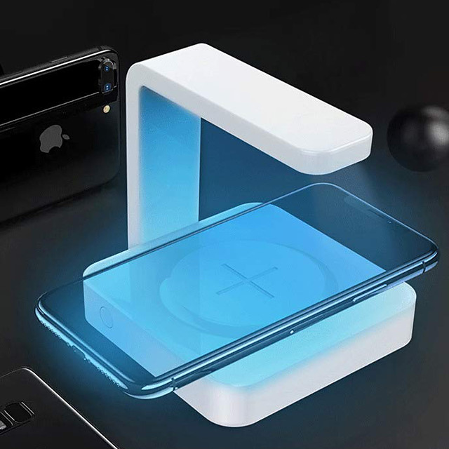 Mobile Phone Sterilizer Disinfection / With wireless charger / UV disinfection ABS+PC Anti-Odour