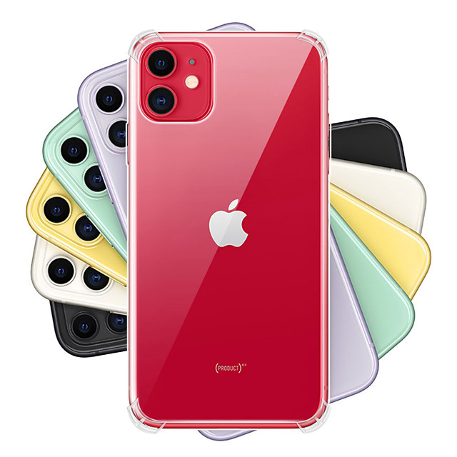 Case For Apple iPhone 11 / iPhone 11 Pro / iPhone 11 Pro Max Shockproof / Dustproof / Transparent Full Body Cases Transparent TPU
