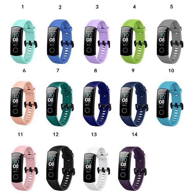 Watch Band for Huawei Honor Band 4 / Huawei Honor 5 Huawei Sport Band TPE Wrist Strap