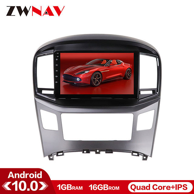 ZWNAV 10.1 inch 1din 1GB 16GB Android 10.0 Car GPS Navigation Car Stereo Player Car Multimedia Player Car MP5 Player DSP CarPlay WIFI  For Hyundai IX25 2014-2018