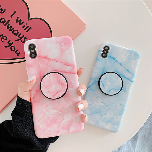 Case For AppleiPhone 6/6s/6S plus/7/8/7Plus/8Plus /iPhoneX/iPhoneXS/iPhoneXR/iPhoneXSmax/iphone 11/iPhone 11 Pro/iPhone 11 Pro Max Max Shockproof Back Cover Solid Colored TPU