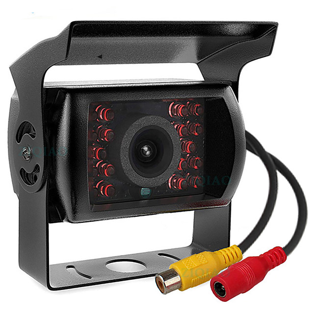 ZIQIAO 480TVL 720 x 480 CCD Wired 110 Degree Rear View Camera Waterproof / Plug and play / Night Vision for Bus / Truck