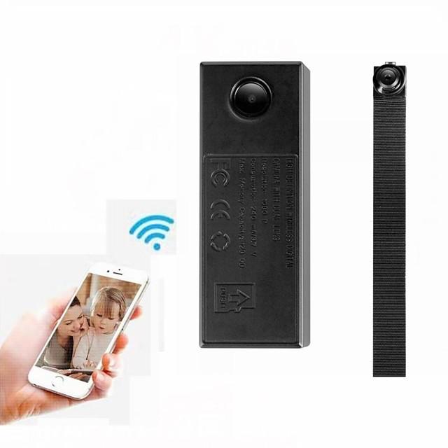 AK2 HD 720P Dual Len Mini Camera IR Night Version  Home Security Mini DV Camcorder WiFi Wireless IP Camera Support 128GB Memory Card