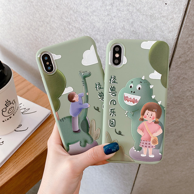 Case for Apple scene map iPhone 11 11 Pro 11 Pro Max Cartoon pattern frosted TPU material soft phone case HY