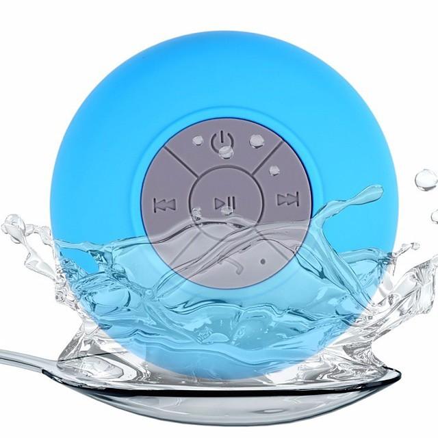 Mini Bluetooth Speaker Portable Waterproof Wireless Handsfree Speakers For Showers Bathroom Pool Car Beach & Outdo