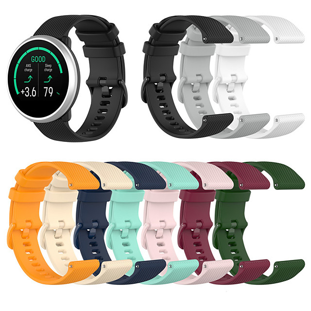 Watch Band for Gear S3 Classic / Samsung Galaxy Watch 46mm / Samsung Galaxy Watch 42mm Samsung Galaxy Sport Band / Classic Buckle Silicone Wrist Strap