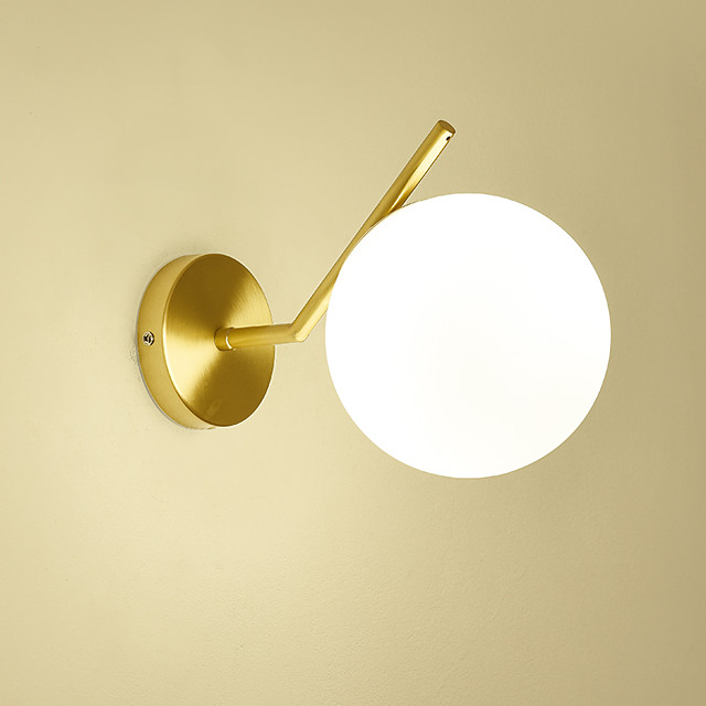 feimiao Modern Nordic Style Wall Lamps & Sconces Living Room Bedroom Copper Wall Light 110-120V 220-240V 40 W E26 E27