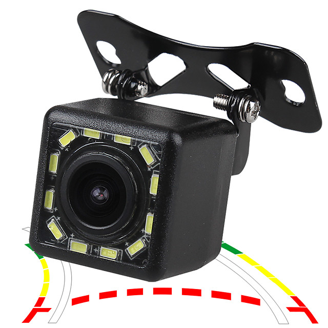 ZIQIAO 480TVL 720 x 480 CCD Wired 170 Degree Rear View Camera Waterproof for Car