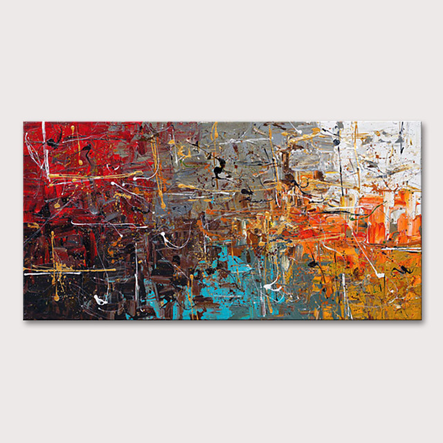 Mintura® Large Size Hand Painted Abstract Oil Paintings On Canvas Modern Posters Wall Art Pictures For Home Decoration No Framed