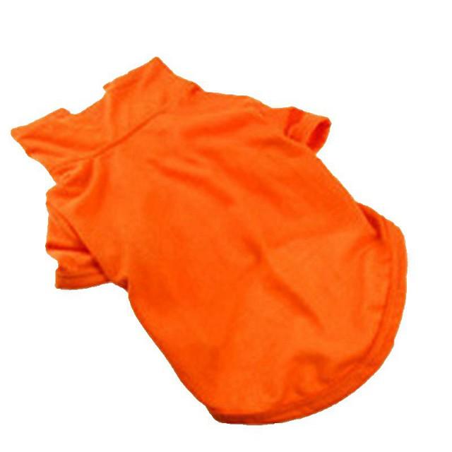 Dog Cat Shirt / T-Shirt Stars Leisure Dog Clothes Yellow Red Blue Costume Poly / Cotton Blend XS S M L XL