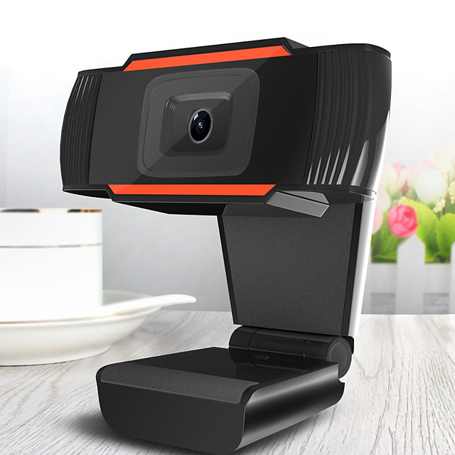 New 30 degrees rotatable 2.0 HD Webcam 720p USB Camera Video Recording Web Camera with Microphone For PC Computer