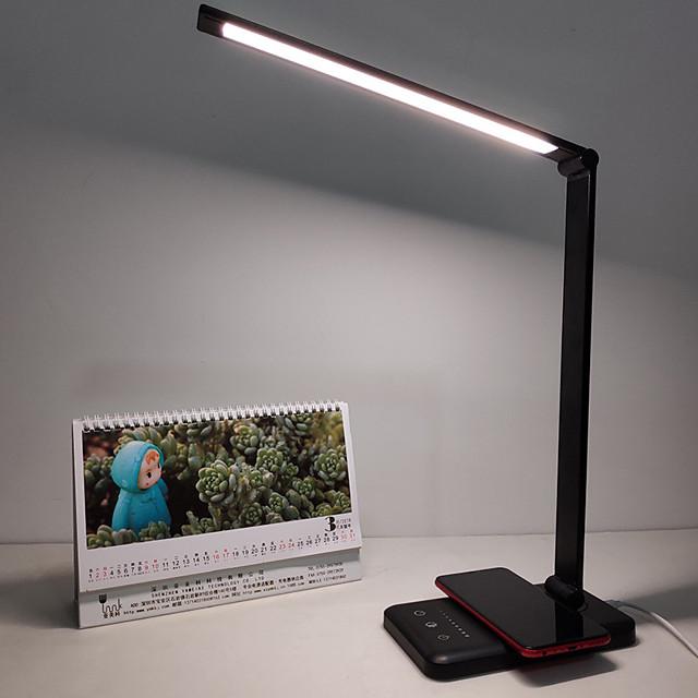 Schreibtischlampe Augenschutz / Drahtloses Laden von Mobiltelefonen Moderne zeitgenössische Gleichstromversorgung Für Studierzimmer / Büro / B¨¹ro DC 5V
