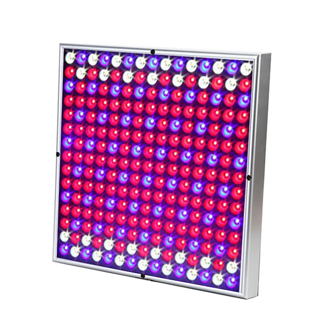 Grow Light LED Plant Growing Light LED 85-265V 30W 230 lm 225 LED Beads Easy Install Tri-color Growing Home Office Vegetable Greenhouse