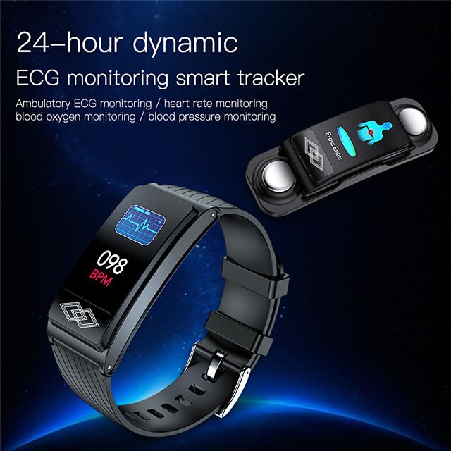 JSBP P10 Women Smart Bracelet Smartwatch BT Fitness Equipment Monitor Waterproof with TWS Bluetooth Wireless Headphones Music Headphones for Android Samsung/Huawei/Xiaomi iOS Mobile Phone