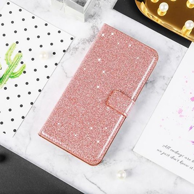 Case For Samsung Galaxy A51 / M40S / A71 Wallet / Shockproof  Diamond Glitter PU Leather Case For Samsung S20 Plus / S20 Ultra/A20e/A50s/A30s/A10/A60/A70/A80/S10 Lite/S10 5G/S10 Plus/Note 10 Plus