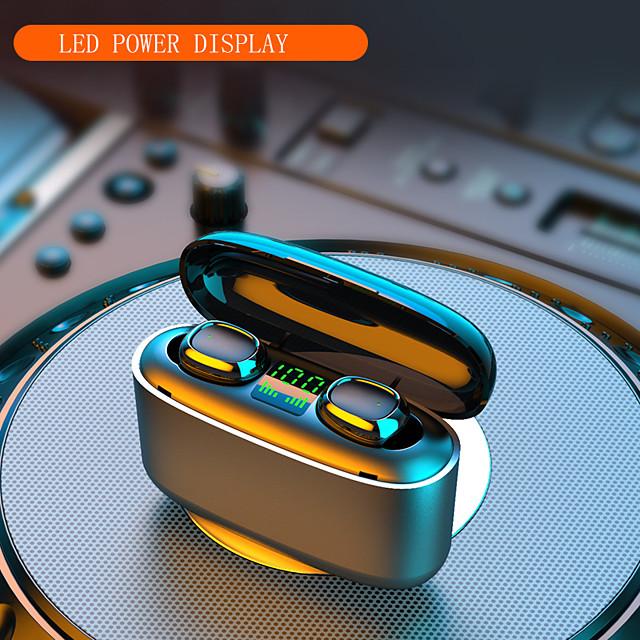 Imosi 3500mah LED Bluetooth Wireless Earphones Headphones Earbuds TWS Touch Control Sport Headset Noise Cancel Waterproof