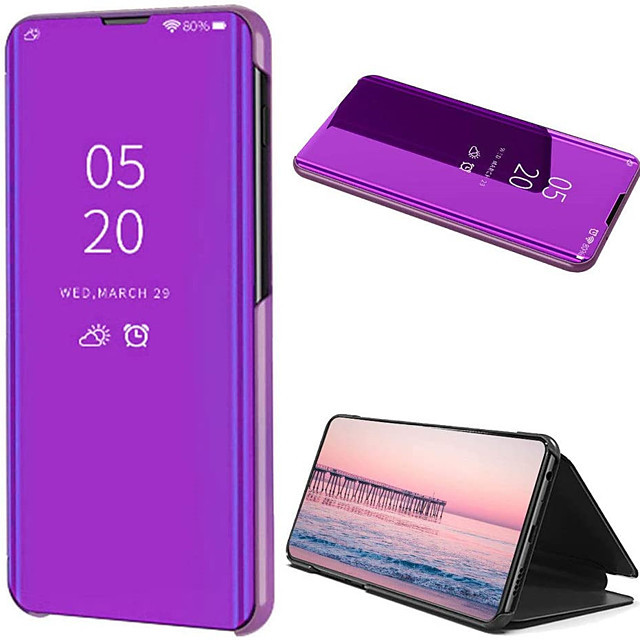 Case For Huawei Huawei P40 / Huawei P40 Pro / Huawei P40 Pro Plus Mirror Full Body Cases Solid Colored Plastic for Huawei P30 / P30 Pro / P30 Lite / P20 / P20 Lite / P20 Pro