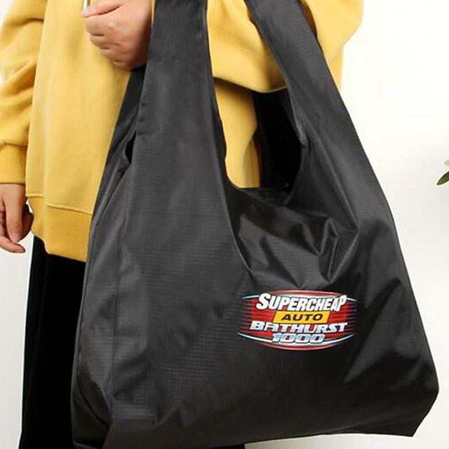 Women's Canvas Top Handle Bag Solid Color Black