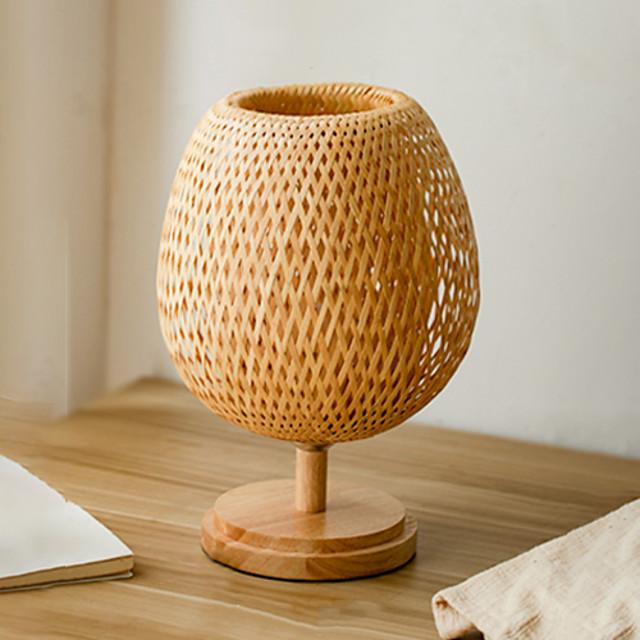 Lampa stołowa Kreatywne / Dekoracyjna Współczesny współczesny Na Sypialnia 220v Drewno