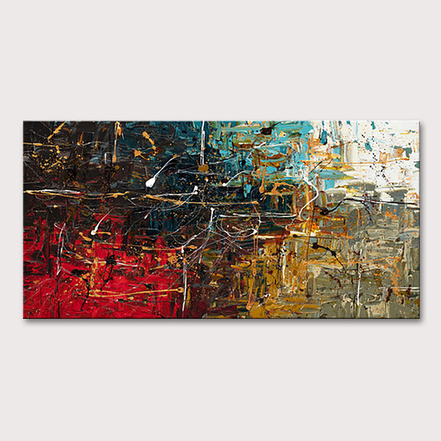 Mintura® Large Size Hand Painted Modern Abstract Oil Paintings On Canvas Modern Posters Wall Art Picture For Home Decoration No Framed