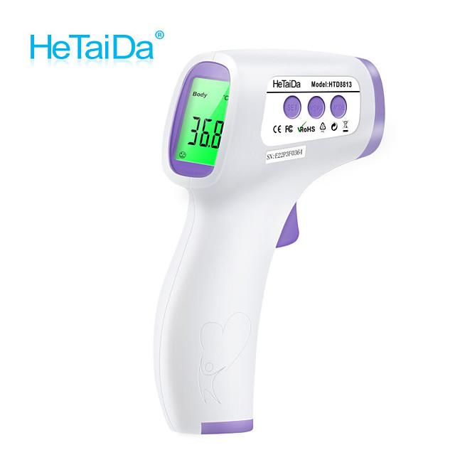 ترمومتر الجبهة ترمومتر عدم الاتصال ترمومتر محمول باليد ترمومتر رقمي أدوات درجة حرارة الطفل الكبار مع CE & FDA المعتمدة / التبديل بين ℉ / ℃