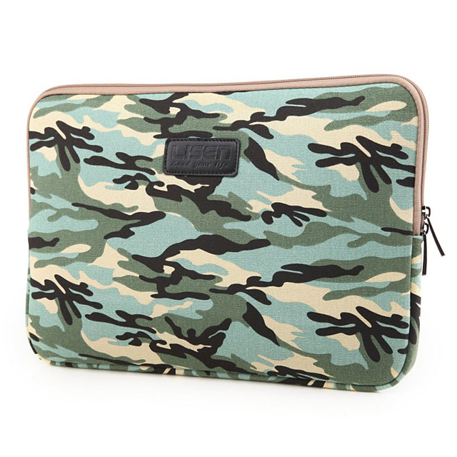 1Pc Cool Camouflage Notebook Liner/10 / 11 / 13 14 15.6 /Tablet Bag Apple Men And Women