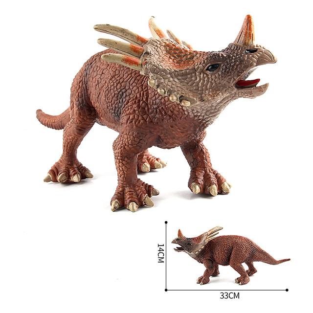 Jurassic Triceratops Realistic Dinosaur Model Toy Figure Kids Birthday Gift Toy