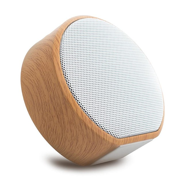 Retro Wood Bluetooth Speaker Portable Outdoor Wireless Bluetooth Mini Computer Sound Box Support AUX TF Card Bass Stereo
