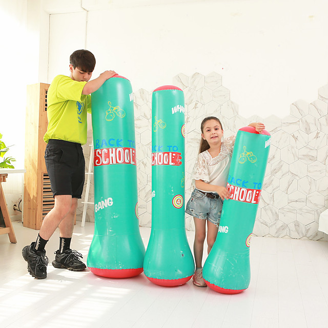 Punching Bag for Martial Arts Boxing Youth Strength Training Crossfit Weight Loss Black Green / Kid's