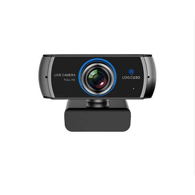 920M Hd USB Wide-angle Computer Camera 1080P Dual Microphone Video Teaching Video Conferencing Live Camera