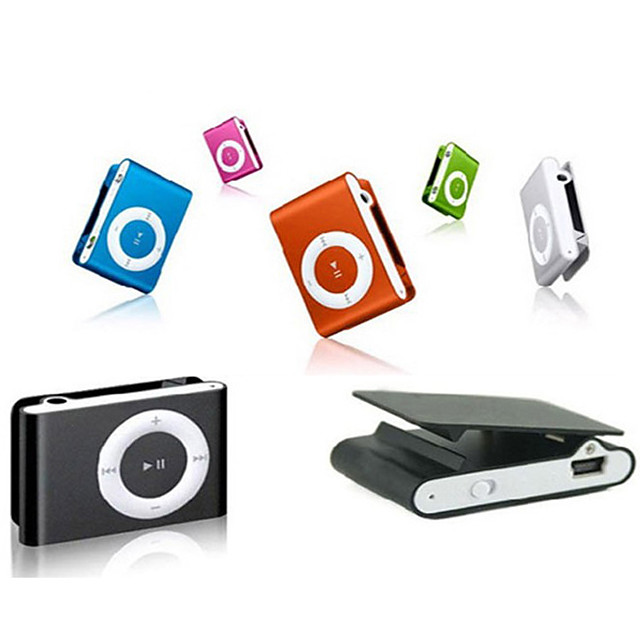 Mini Portable MP3 Music Player Mini Portable Clip MP3 Music Player Waterproof Sport Mini Clip Mp3 Music Player Walkman Lettore