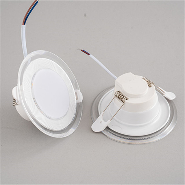 4pcs 3 W 300 lm 10 LED Beads Dimmable Easy Install Recessed LED Downlights Warm White Cold White Natural White 220-240 V Home / Office Living Room / Dining Room Bedroom