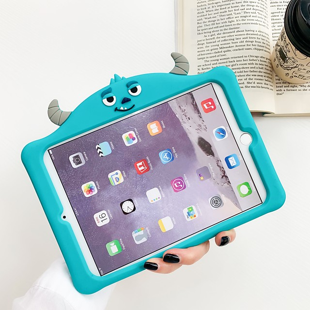 Case For Apple iPad Air / iPad 4/3/2 / iPad Mini 3/2/1 Shockproof Back Cover Cartoon TPU