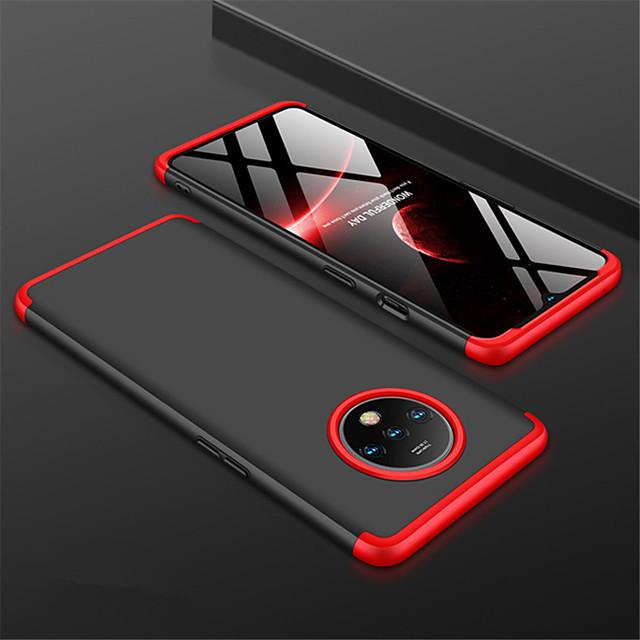 telefon Ügy Kompatibilitás OnePlus Fekete tok egy plusz 7T egy plusz 7T Pro Jeges Tömör szín PC