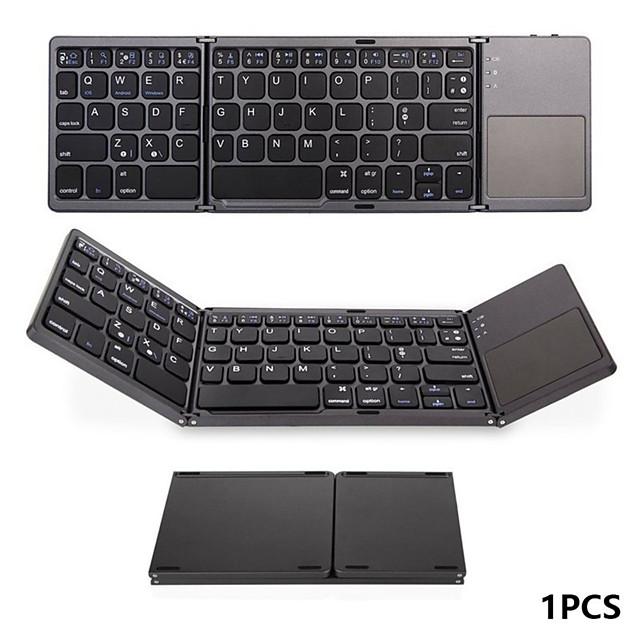 Portable Folding Wireless Bluetooth Mini Keyboard for IOS/Android/Windows ipad Tablet Touchpad  keyboard