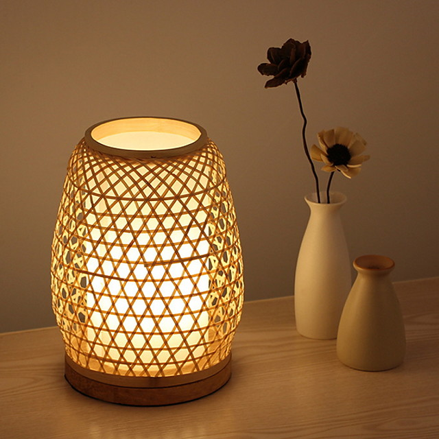 Table Lamp Simple For Indoor 220V Wood