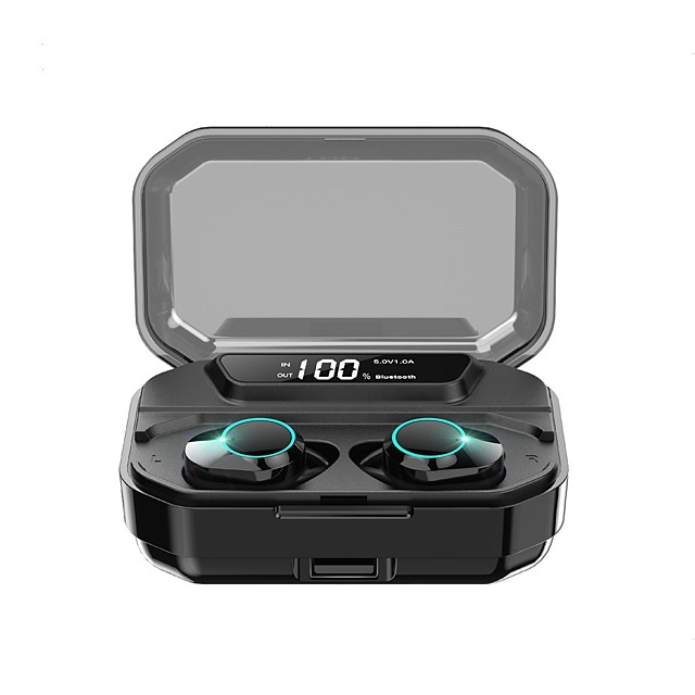 Kumi T3s Tws True Wireless Headphone Earbuds Bluetooth 5 0 Stereo Led Display Auto Pairing Ipx6 Waterproof 3300mah Charging Case Smart Touch 6d Surround Bass 7519583 2020 44 99