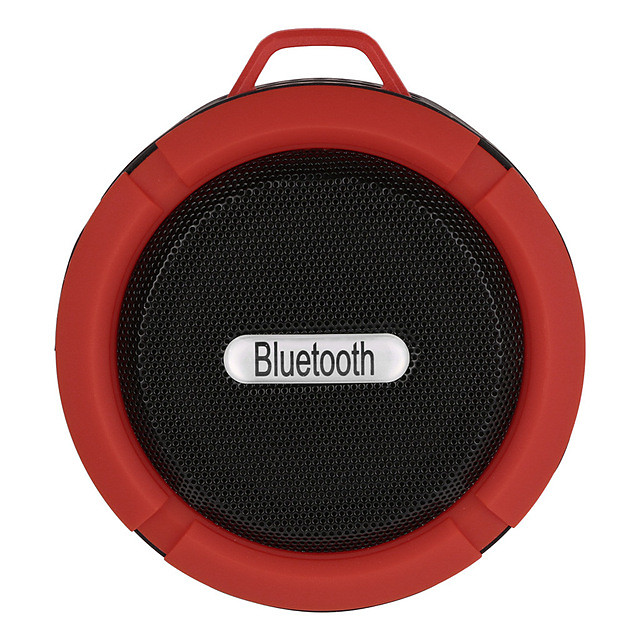 C6 Outdoor Wireless Bluetooth 4.1 Stereo Portable Speaker Built-in Mic Shock Resistance IPX4 Waterproof Louderspeaker