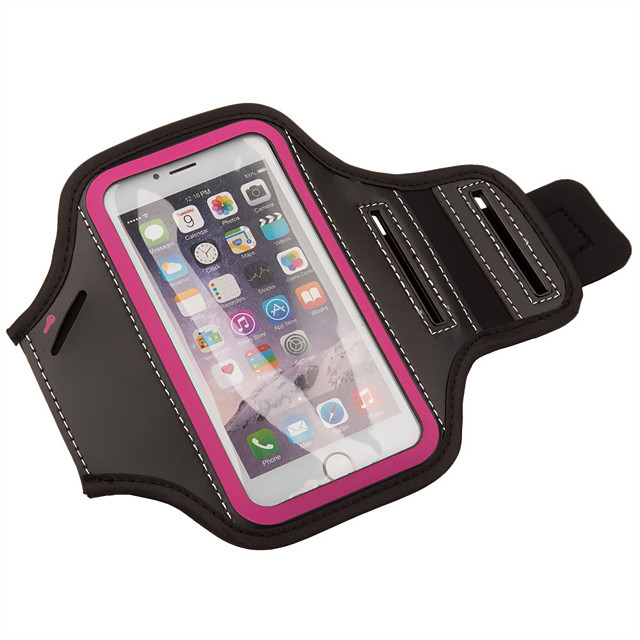 Armband for Fitness Leisure Sports Running Cycling / Bike Sports Bag Multifunctional Waterproof Rain Waterproof Plastic Canvas Running Bag / iPhone X / iPhone XS Max / iPhone XS / iPhone XR