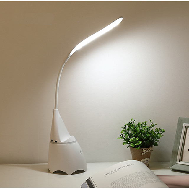 Reading Light Rechargeable / Multi-shade / Eye Protection Modern Contemporary USB Powered For Bedroom / Study Room / Office Acrylic <36V White